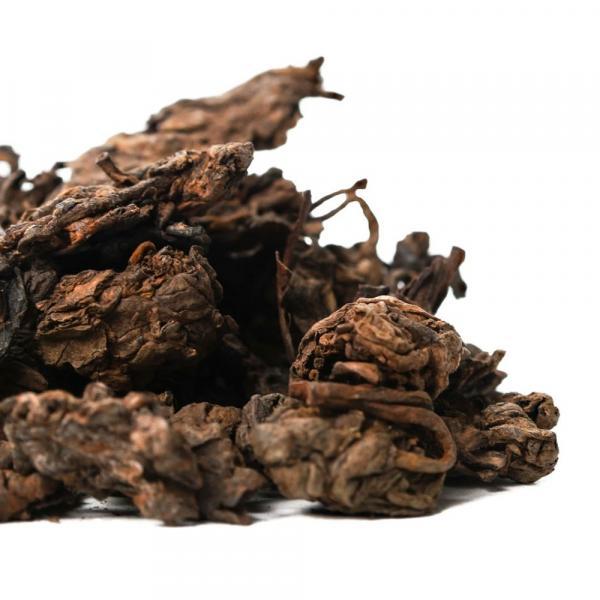 Пуэр Шу Лао Ча Тоу «Мягкий вкус» Юн Дэ 2008г.