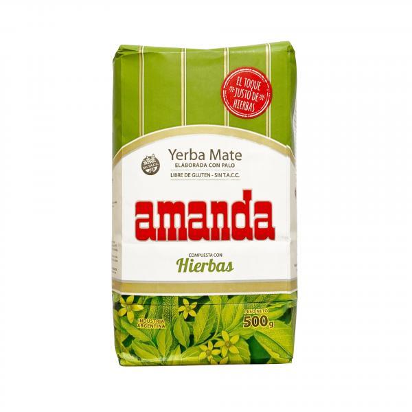 Мате «Amanda» Травяной 500 г фото