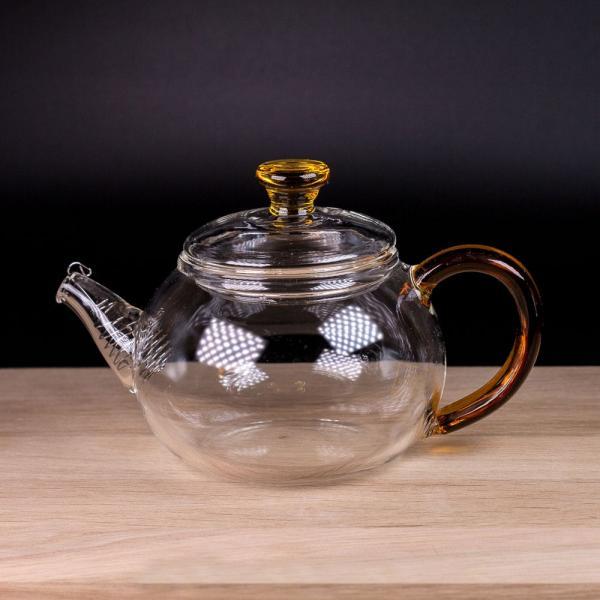 Заварочный чайник из стекла «Рыжик» 260 мл фото