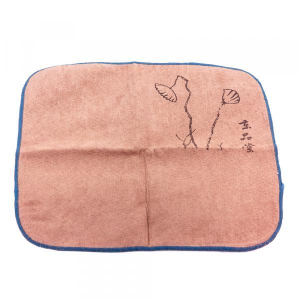 Чайное полотенце «Лотос прорастает» 30×30 см фото