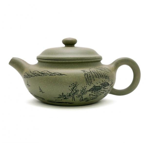 Чайник из глины 200мл