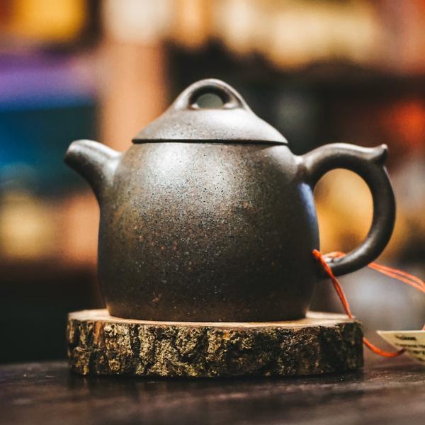 Исинский чайник «Сан Цзу Ши Пяо» из исинской глины 200 мл фото