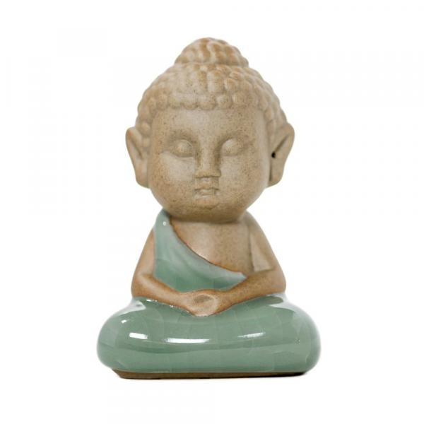 Чайная фигурка Монах сидящий в лотосе фото