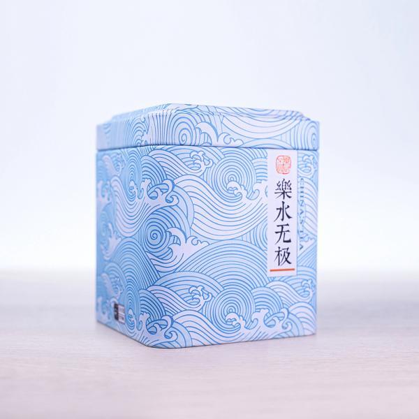 Баночка для чая «Волнующееся море» 350мл