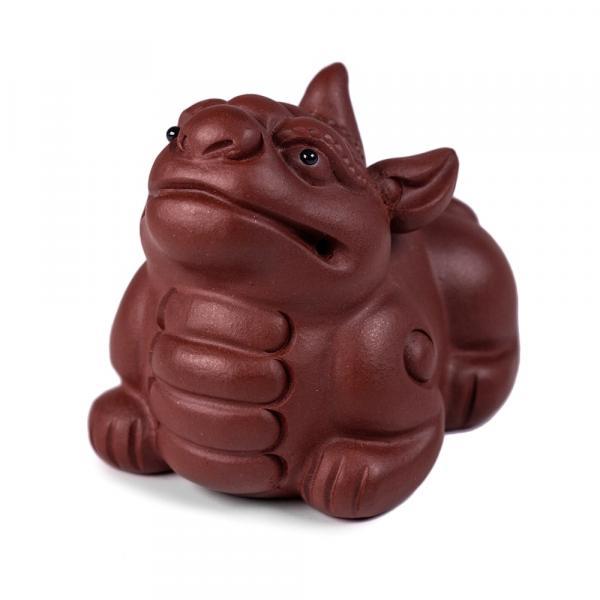 Чайная фигурка сын дракона Пи Сю «355» 5х4,5 см фото
