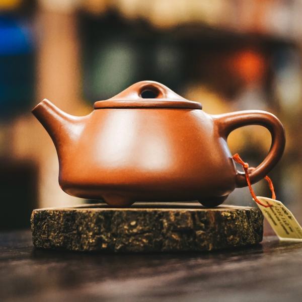 Исинский чайник «Сан Цзу Ши Пяо Цин Шуй Ни» из исинской глины 170 мл фото