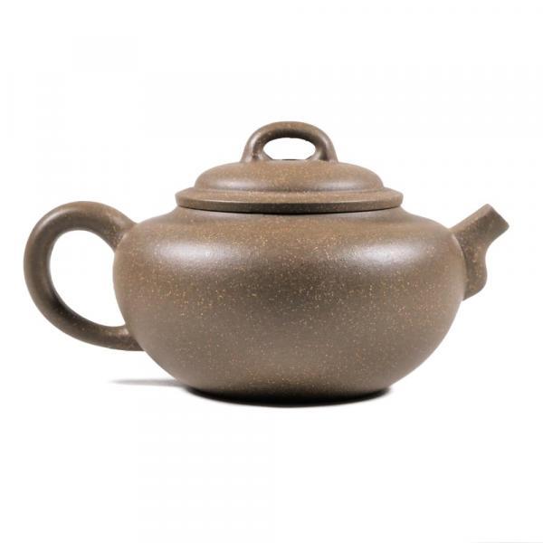 Заварочный чайник «Плоский нос» исинская глина 255мл
