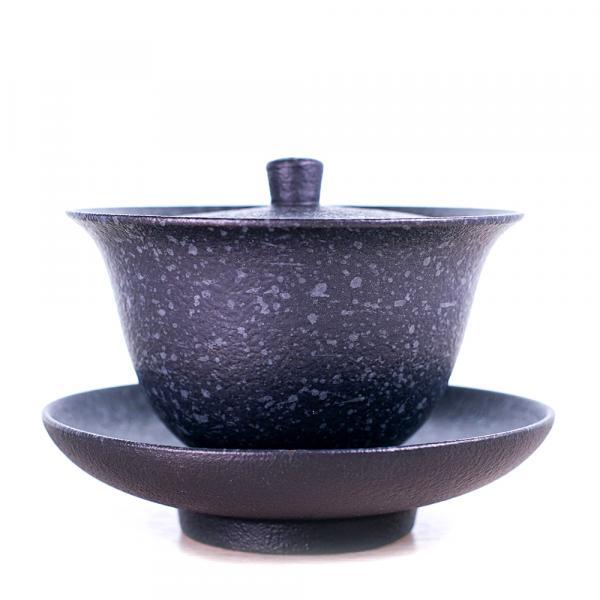 Гайвань «Под старину» керамика 200 мл (тёмная) фото