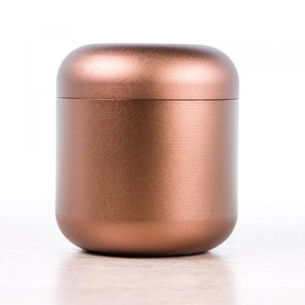 Баночка для чая «Бронзовый Ака» 4,5х5см