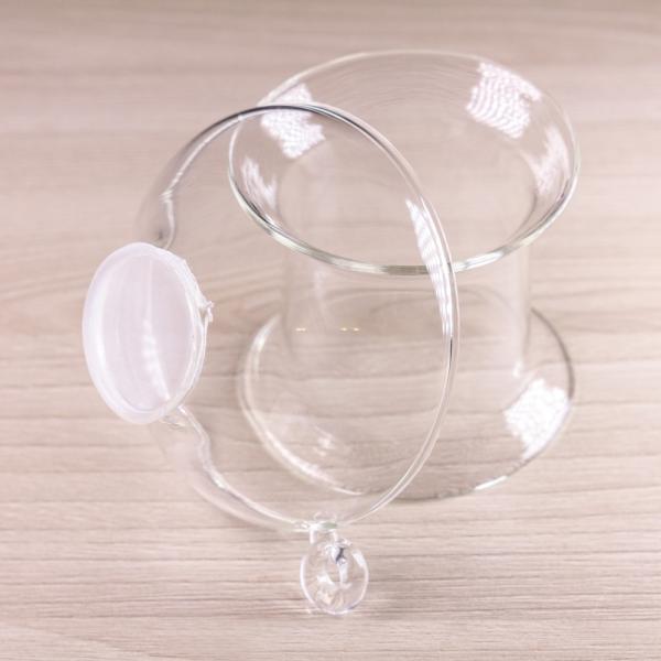 Сито для чая «Стекло-2» на подставке 7×8см