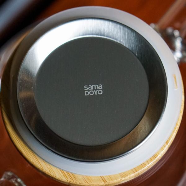 Чайник Sama S-051H огнеупорный 900мл