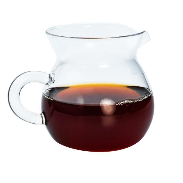 Стеклянный чахай, сливник в форме кувшина с чаем