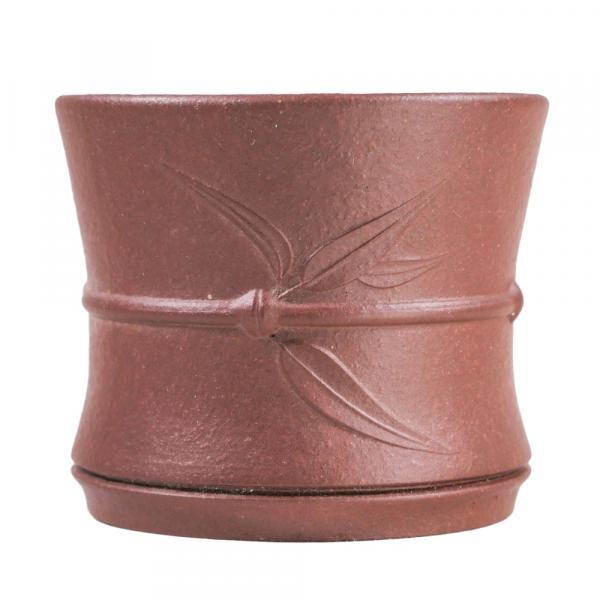 Пиала «Бамбук» из исинской глины 95 мл фото