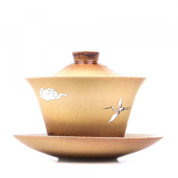Гайвань «Цапля в небе» керамика 155 мл фото
