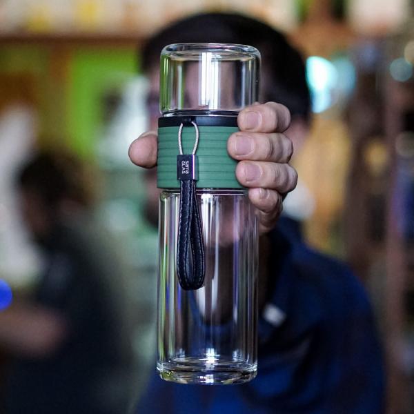 Бутылка для чая Sama «Походная № 4» 240 мл фото