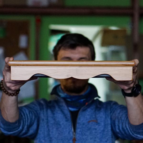 Чайная доска (чабань) «18» бамбук 29×40см
