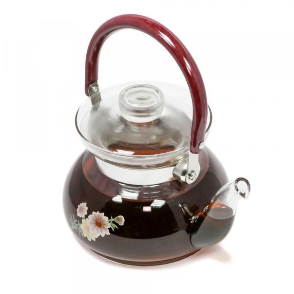 Чайник «Цзюй Хуа» огнеупорный 600 мл фото