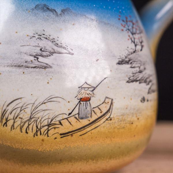 Заварочный чайник «Устье реки 265» 150мл (ручная роспись)