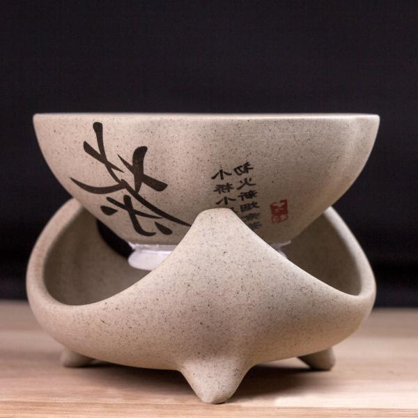 Сито для чая «Иероглиф Чай» на подставке 8,5 см фото