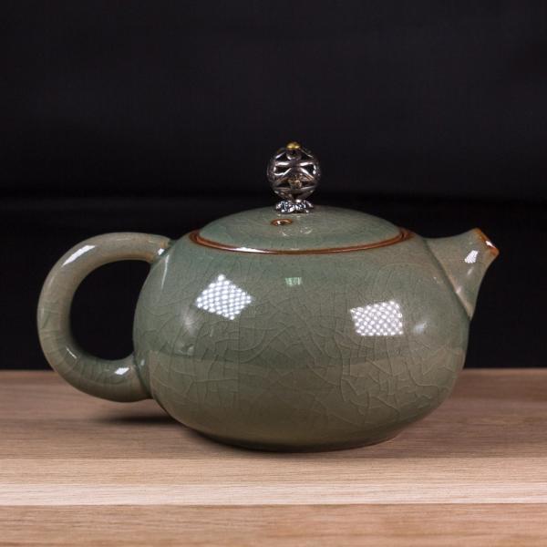 Заварочный чайник «Си Ши» кракелюр 200 мл фото