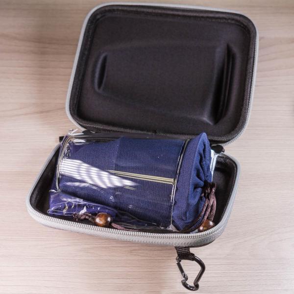 Походный чайный набор «Жесткая борсетка» (7 предметов)