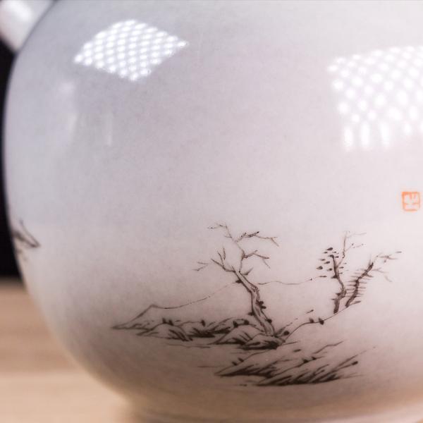 Заварочный чайник «Умиротворенный 266» 150мл (ручная роспись)