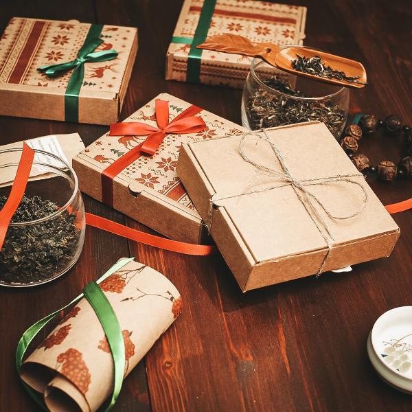 Новогодний чайный набор «Классический»
