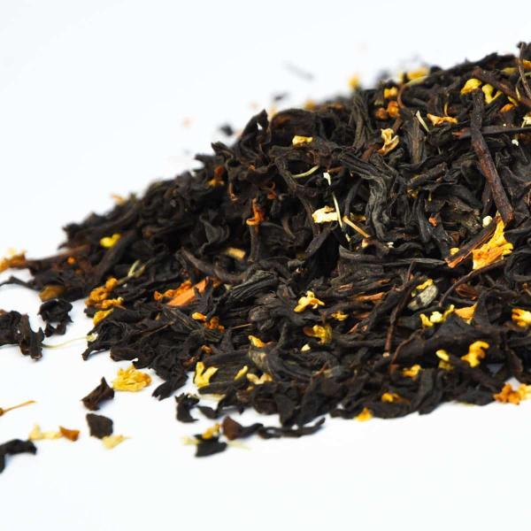 Красный чай с османтусом