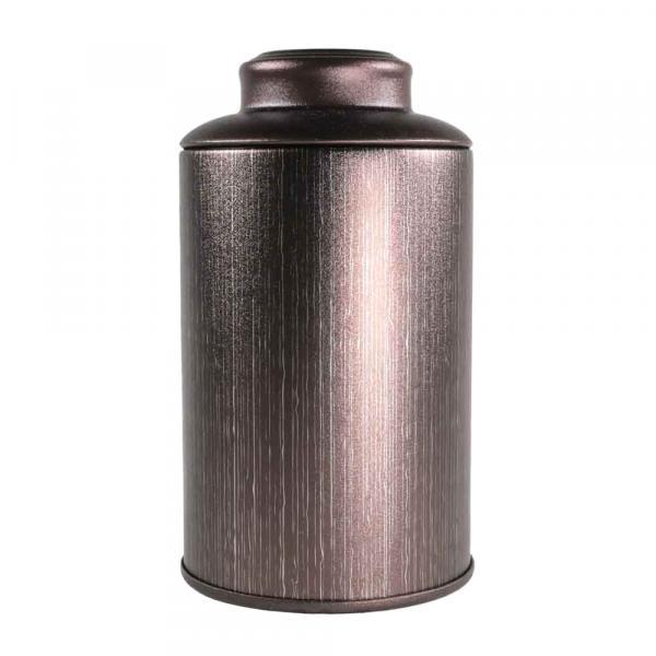 Баночка для чая «Бордовая» 7,5х13см