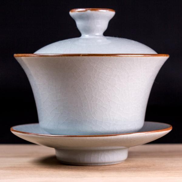 Гайвань «Кракелюр синий» керамика 160 мл фото