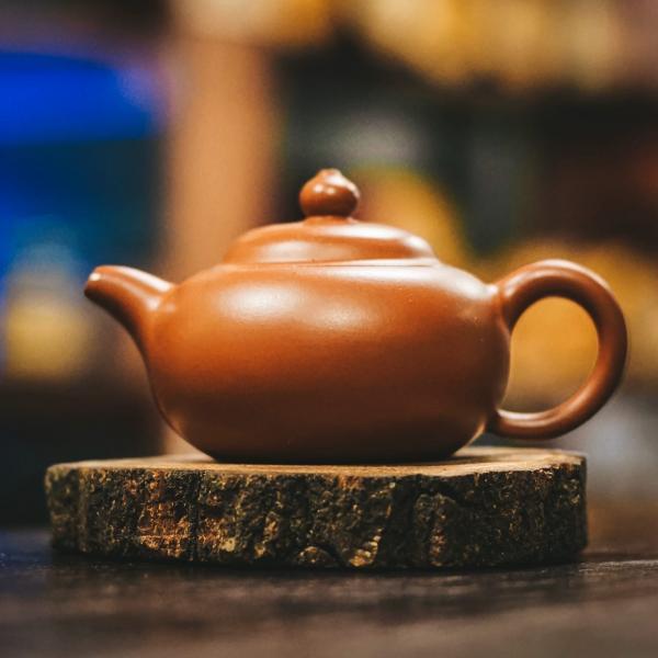 Исинский чайник «ФанГу 676» из исинской глины 115мл
