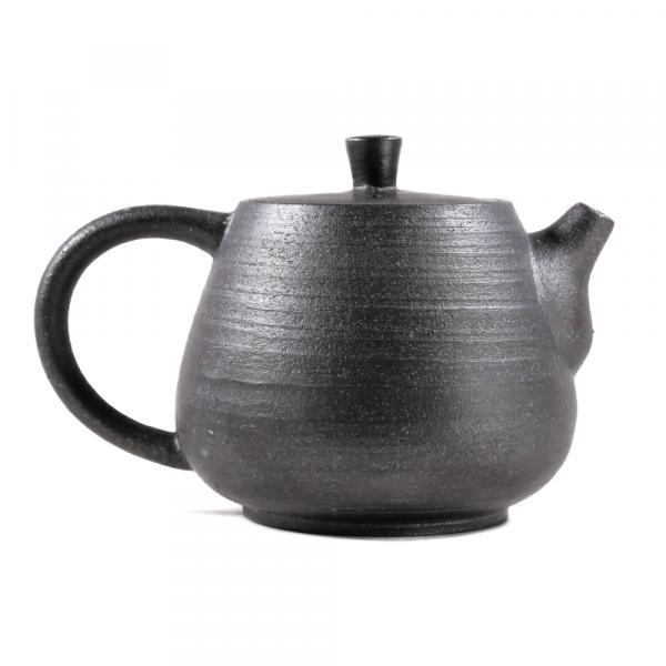 Заварочный чайник толстостенная керамика 165 мл фото