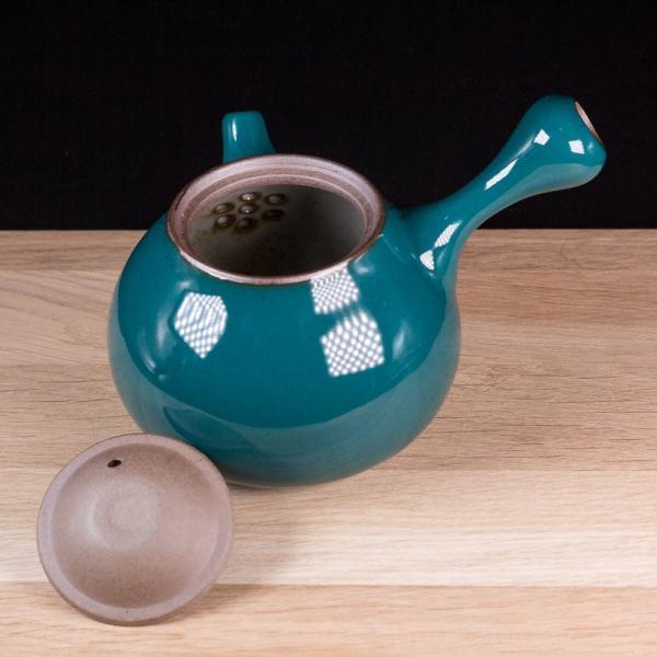 Заварочный чайник «Кюсу» с боковой ручкой 220мл