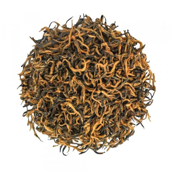 Красный чай Цзинь Цзюнь Мэй золотые брови фото
