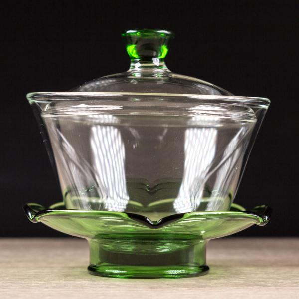 Гайвань «Зелёный цветок» стекло 200 мл фото