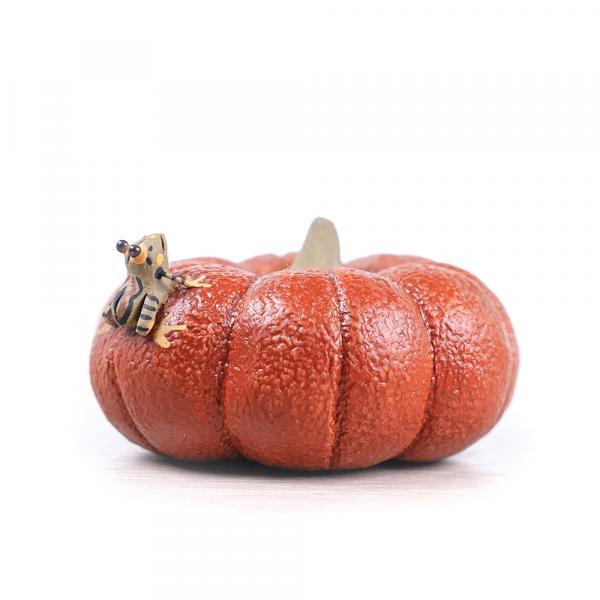 Чайная фигурка «Хэллоуинская лягуха» 4,5 см фото