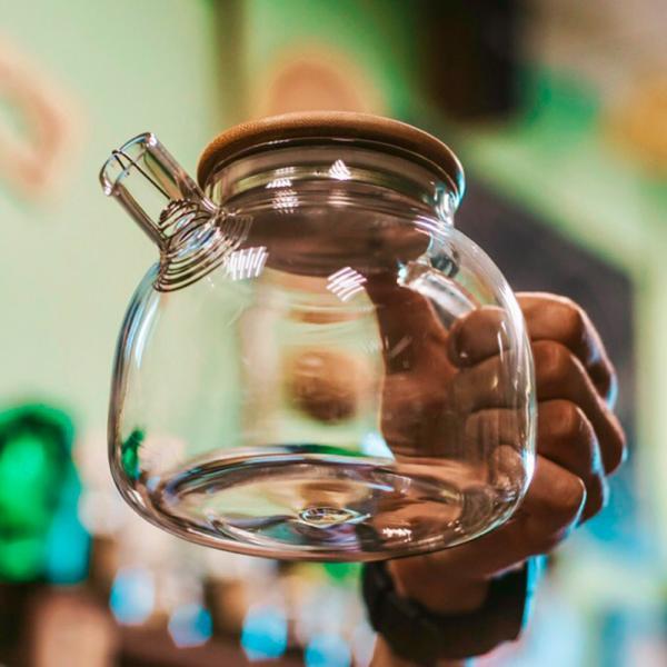 Чайники из стекла
