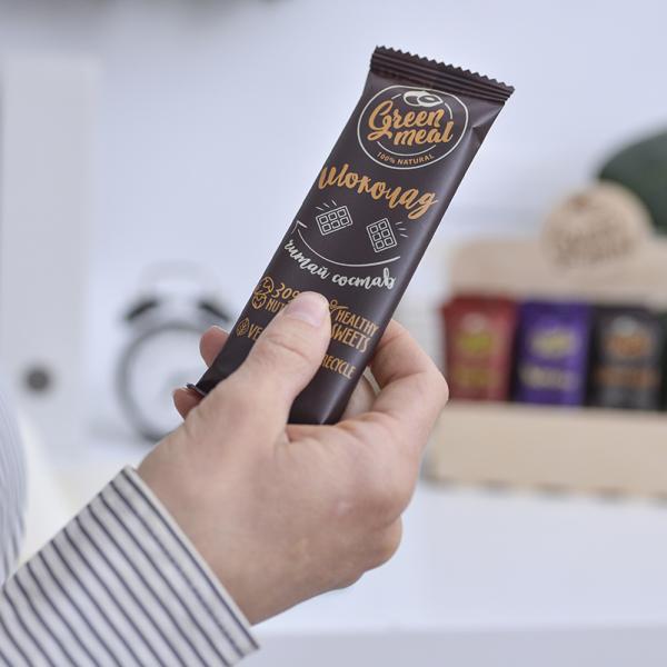 Батончик Green Meal «Шоколад» 50г