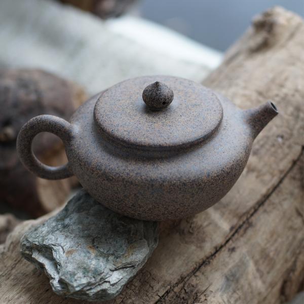 Заварочный чайник «Бянь Ху 562» исинская глина 270 мл фото