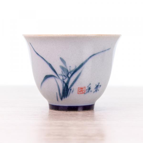 Пиала «Лилия» керамика 60 мл фото