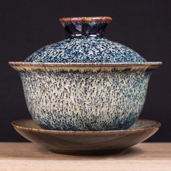 Гайвань «Морские камни» глина и глазурь 130 мл фото