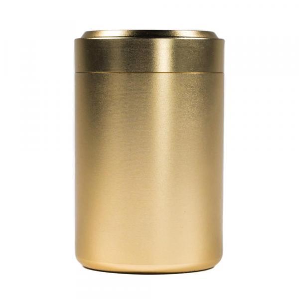 Баночка для чая «Золотая» 4,5х7см