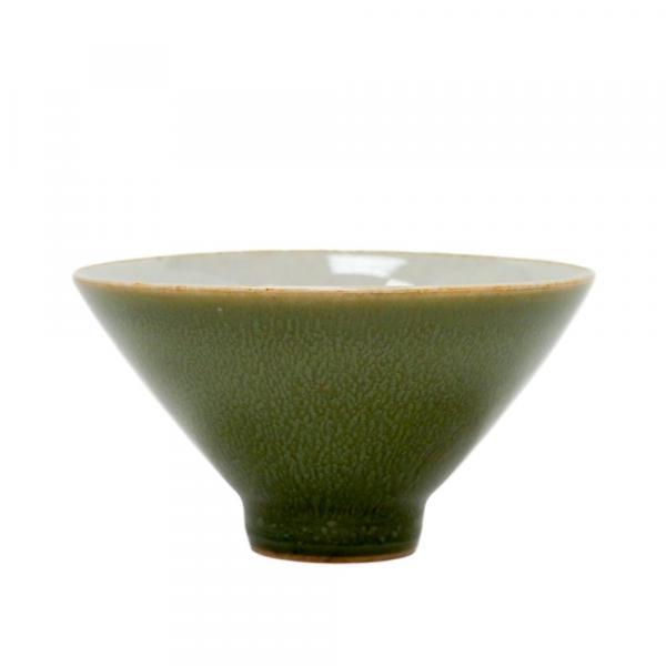 Чашка зеленая «Конус» 55мл