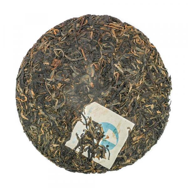 Чай Пуэр Шен Гу Юэн Чун «Лао Банчжан» 2011г (357гр.)