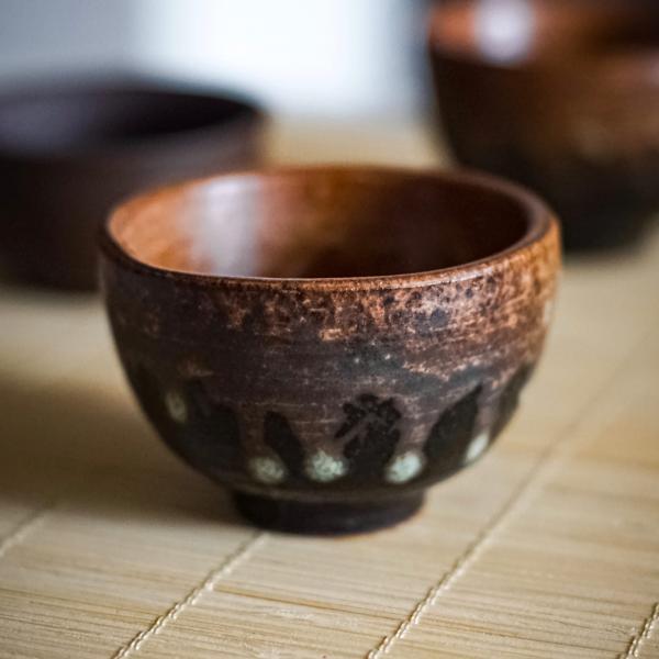 Пиала «Бисквит 842» исинская глина 50 мл фото