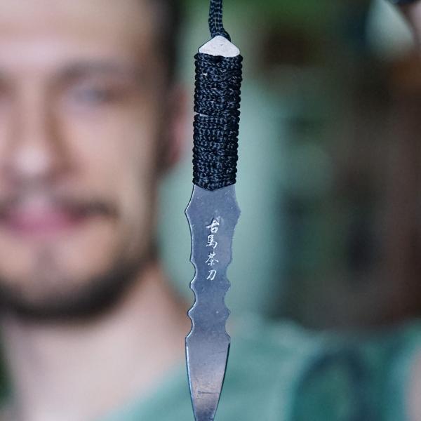Шило (нож) для пуэра «Кунай» 14см