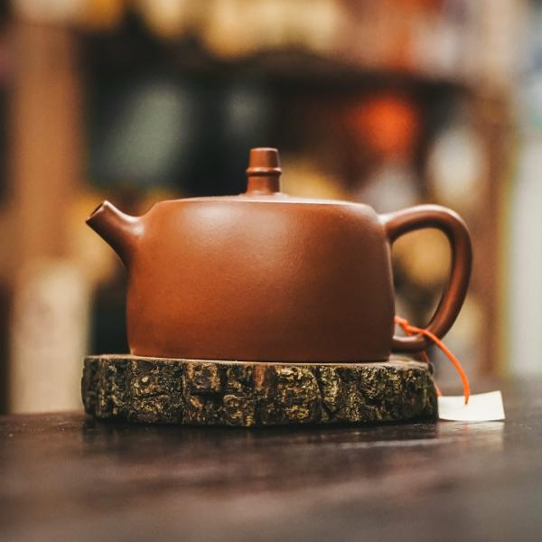 Исинский чайник «Цзинь Лань» из исинской глины 190 мл фото