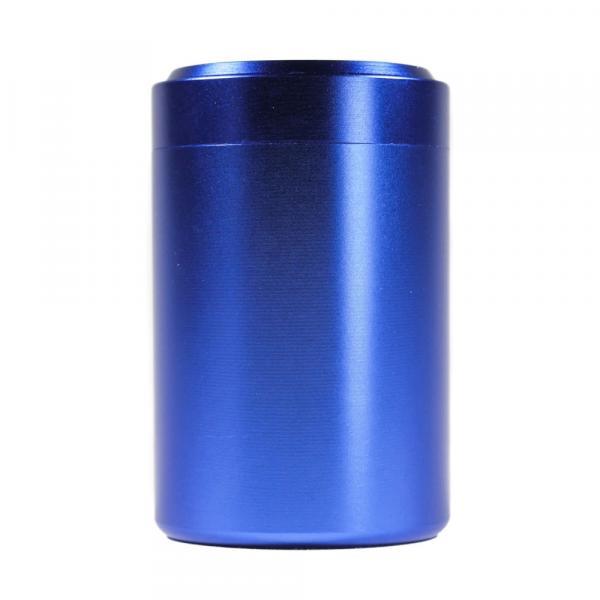 Баночка для чая «Синий» алюминий 4,5х7 см фото