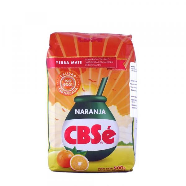 Мате «CBSe» Апельсин 500 г фото