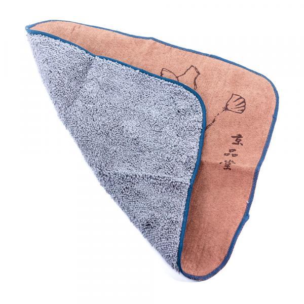 Чайное полотенце «Лотос прорастает» 30×30см